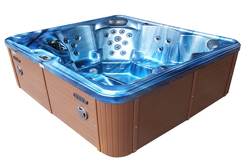 Modern Outdoor Spa Offers Additional Features